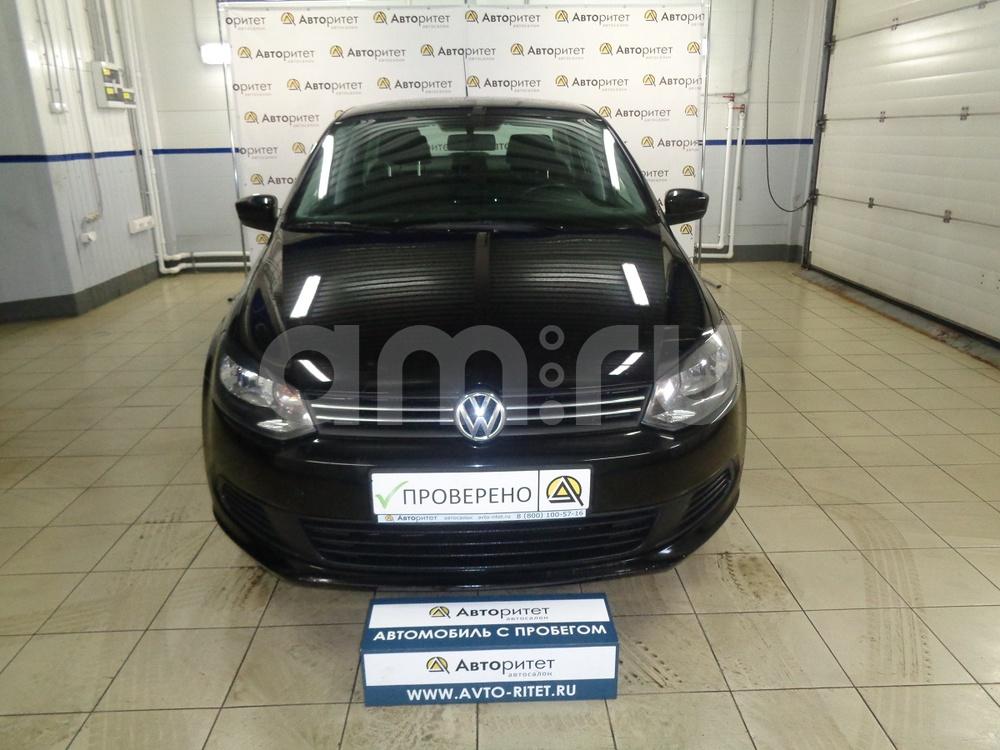 Volkswagen Polo с пробегом, черный , отличное состояние, 2013 года выпуска, цена 399 000 руб. в автосалоне  ()