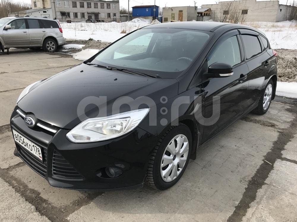 Подержанный Ford Focus, отличное состояние, черный , 2011 года выпуска, цена 460 000 руб. в Архангельске