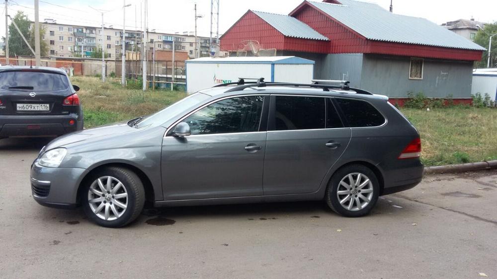 Подержанный Volkswagen Golf, отличное состояние, серый металлик, 2007 года выпуска, цена 380 000 руб. в республике Татарстане