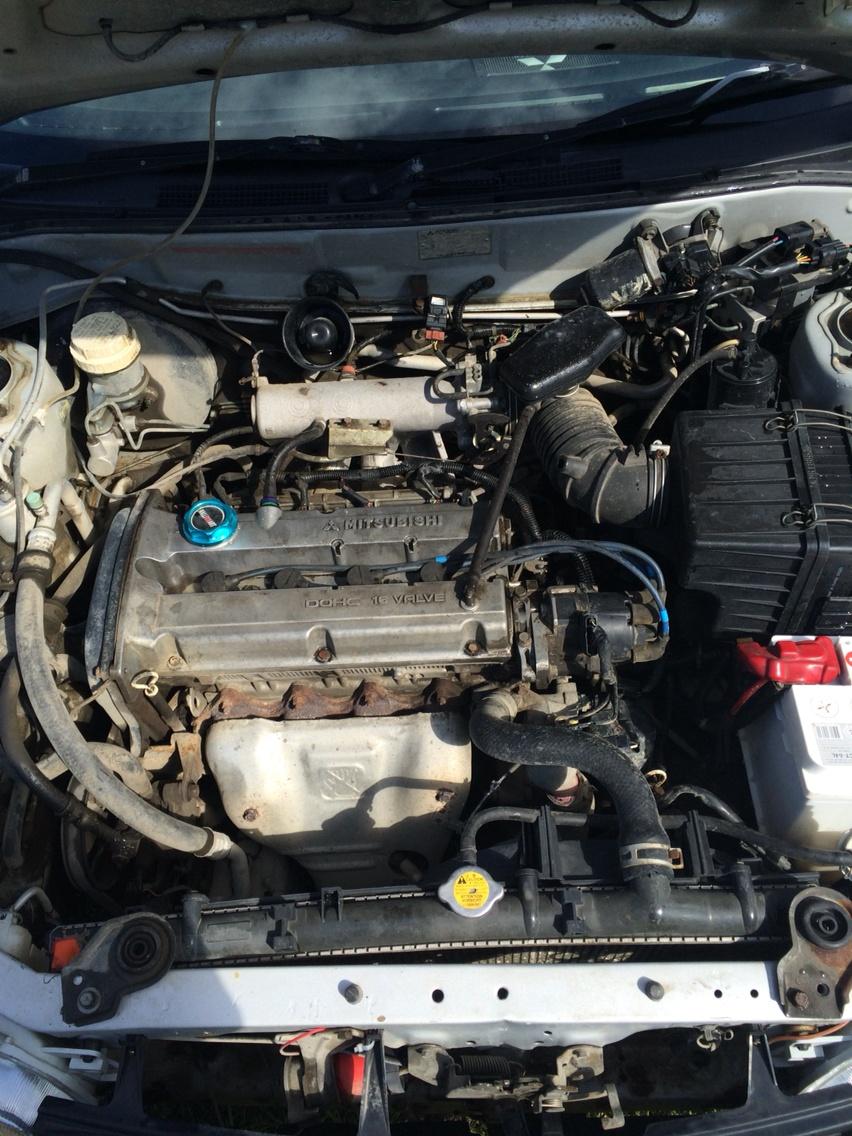 Подержанный Mitsubishi Lancer, среднее состояние, серебряный , 1997 года выпуска, цена 110 000 руб. в ао. Ханты-Мансийском Автономном округе - Югре