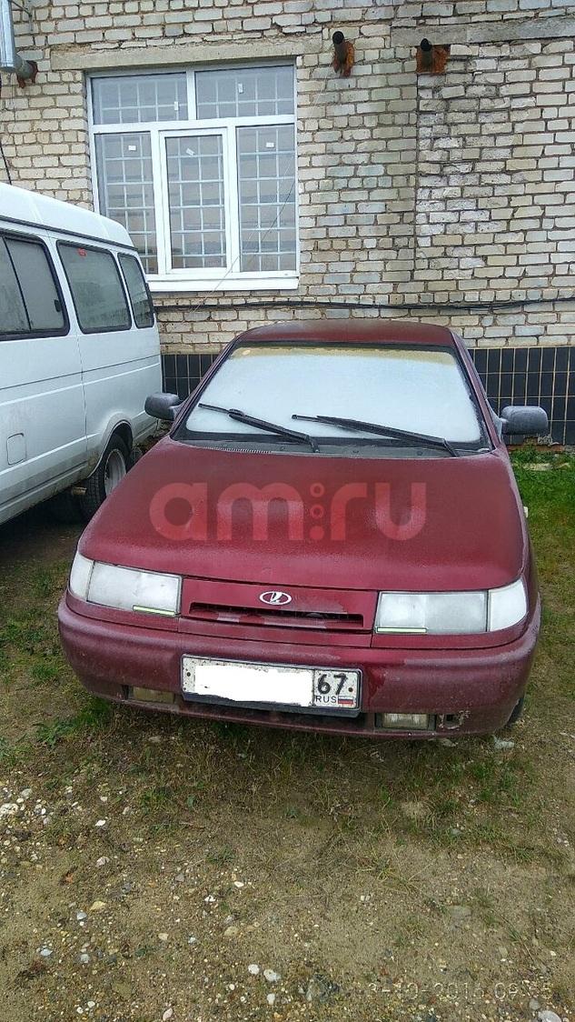 Подержанный ВАЗ (Lada) 2112, хорошее состояние, бордовый , 2005 года выпуска, цена 110 000 руб. в Смоленской области