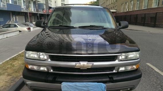 Chevrolet Tahoe с пробегом, черный , отличное состояние, 2004 года выпуска, цена 550 000 руб. в автосалоне Авто-Брокер на Антонова-Овсеенко (Самара, ул. Антонова-Овсеенко, д. 51Ж)