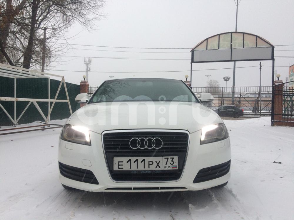 Подержанный Audi A3, отличное состояние, белый , 2010 года выпуска, цена 550 000 руб. в Ульяновской области