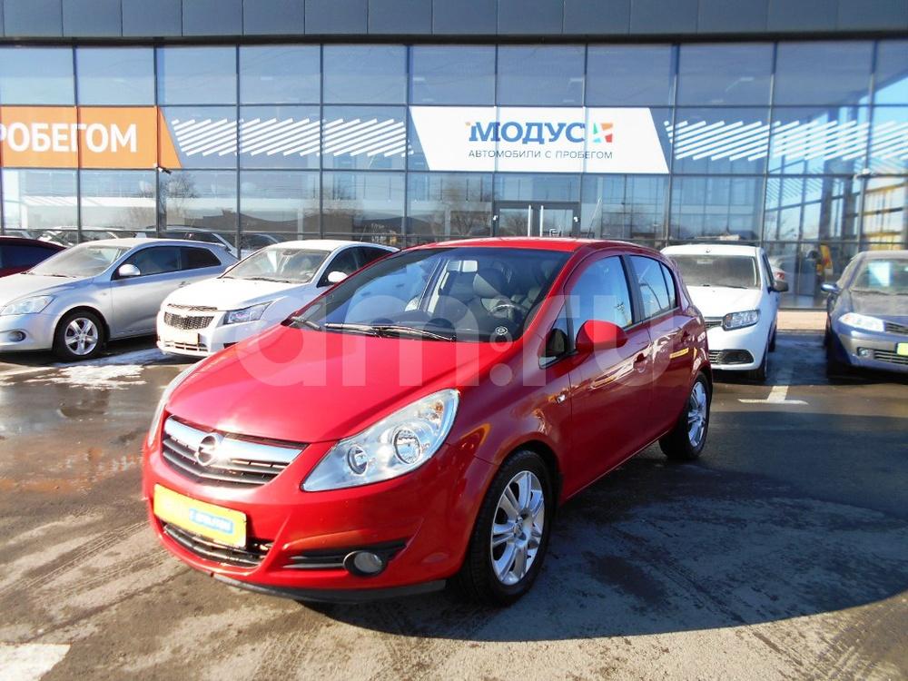 Opel Corsa с пробегом, красный , отличное состояние, 2008 года выпуска, цена 350 000 руб. в автосалоне МОДУС ПЛЮС Ростов-на-Дону (Ростов-на-Дону, ул.Вавилова, д. 74 А/1)