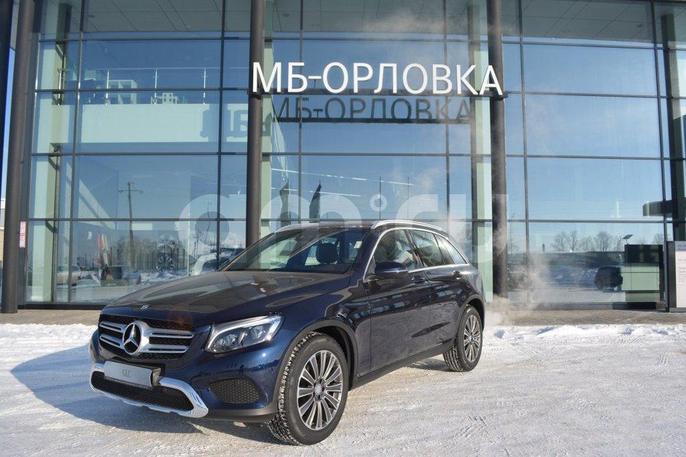 Новый авто Mercedes-Benz GLC-Класс, синий бриллиант, 2016 года выпуска, цена 3 340 000 руб. в автосалоне МБ-Орловка (Набережные Челны, тракт Мензелинский, д. 24)