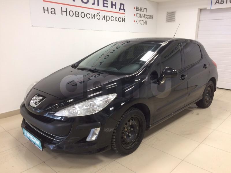 Peugeot 308 с пробегом, черный , отличное состояние, 2010 года выпуска, цена 260 000 руб. в автосалоне Автоленд на Новосибирской (Екатеринбург, ул. Новосибирская Вторая, д. 8)