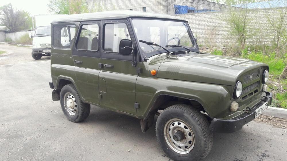Подержанный УАЗ Hunter, хорошее состояние, зеленый , 2010 года выпуска, цена 200 000 руб. в Ульяновской области