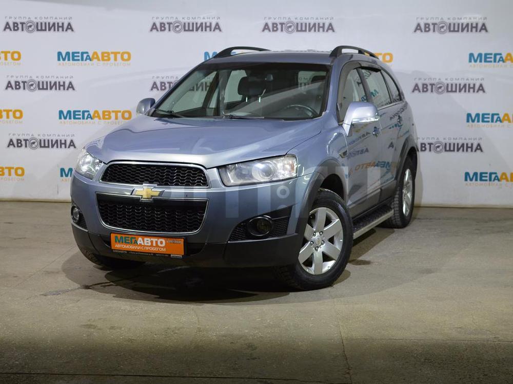 Chevrolet Captiva с пробегом, серый , отличное состояние, 2012 года выпуска, цена 809 000 руб. в автосалоне Мега Авто Калуга (Калуга, ул. Зерновая, д. 28)