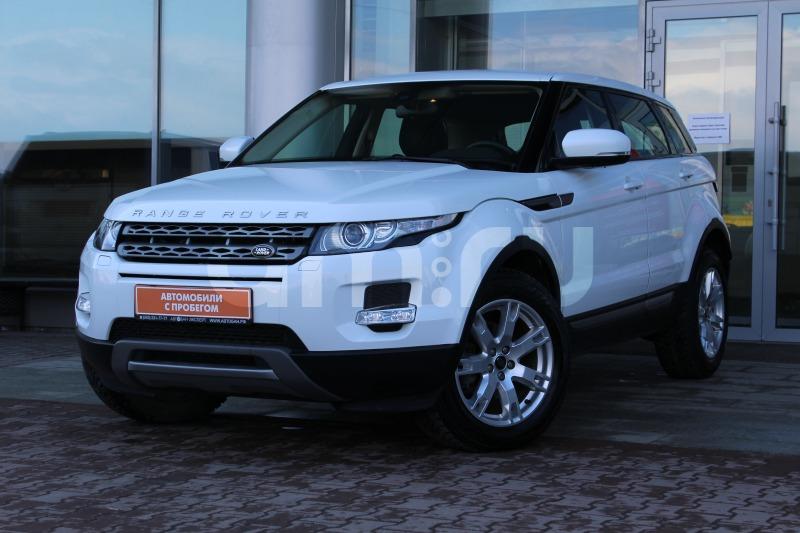 Land Rover Range Rover Evoque с пробегом, белый , отличное состояние, 2013 года выпуска, цена 1 630 000 руб. в автосалоне  ()