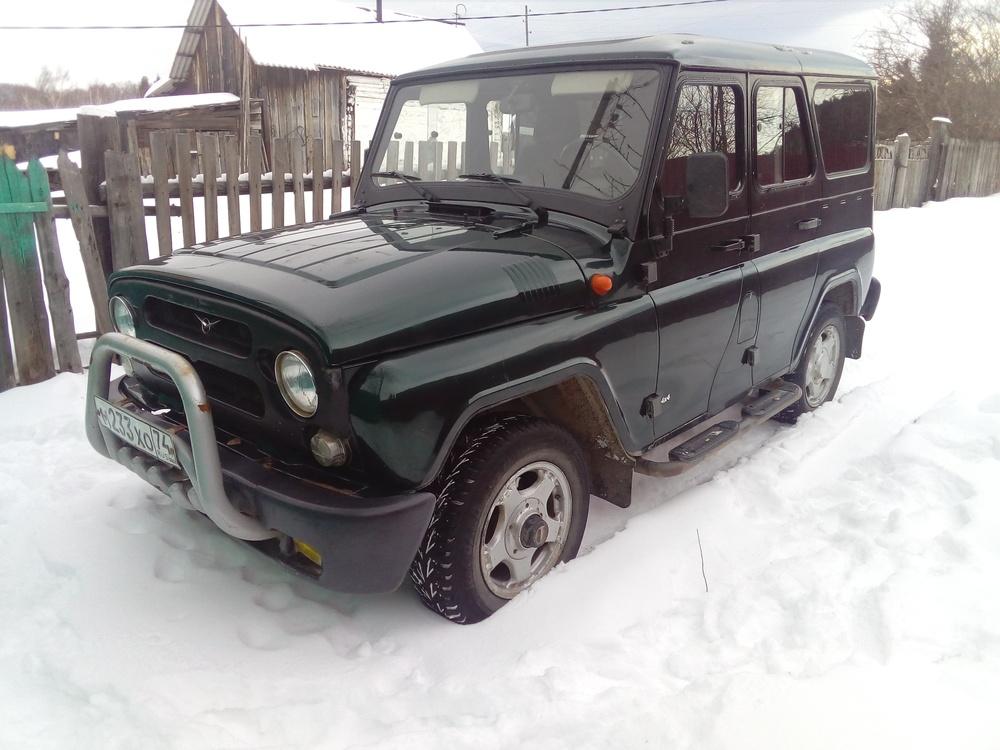 Подержанный УАЗ Hunter, отличное состояние, мокрый асфальт металлик, 2006 года выпуска, цена 350 000 руб. в Челябинской области