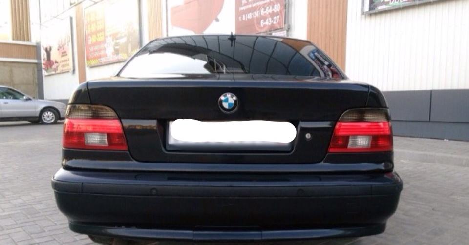 Подержанный BMW 5 серия, отличное состояние, черный , 1998 года выпуска, цена 350 000 руб. в Смоленской области