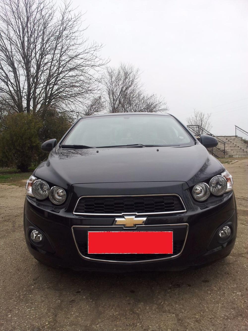 Подержанный Chevrolet Aveo, отличное состояние, черный , 2012 года выпуска, цена 500 000 руб. в Крыму