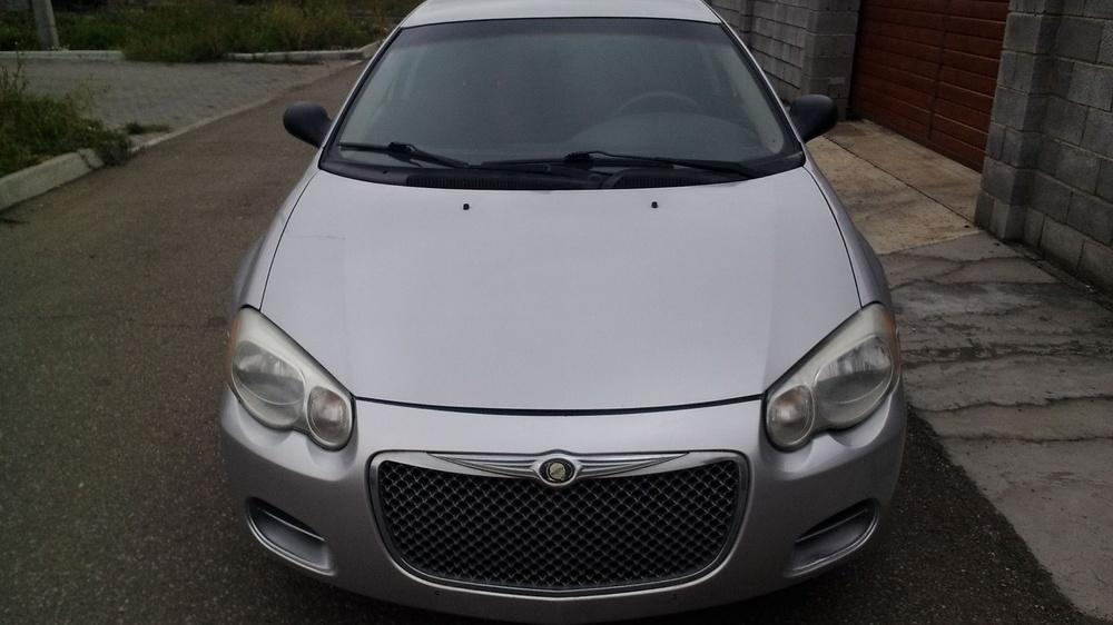 Подержанный Chrysler Sebring, хорошее состояние, серебряный металлик, 2005 года выпуска, цена 250 000 руб. в Челябинской области