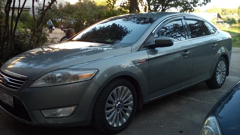 Подержанный Ford Mondeo, отличное состояние, серый , 2009 года выпуска, цена 510 000 руб. в Тверской области