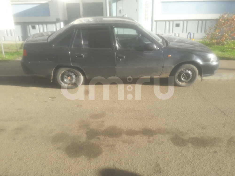 Подержанный Daewoo Nexia, хорошее состояние, черный , 2010 года выпуска, цена 110 000 руб. в республике Татарстане
