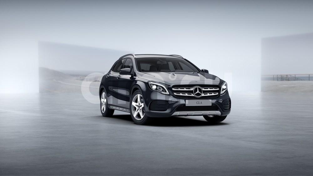 Новый авто Mercedes-Benz GLA-Класс, черный металлик, 2017 года выпуска, цена 2 550 000 руб. в автосалоне УралАвтоХаус Магнитогорск (Магнитогорск, пр-кт Ленина, д. 97, лит. Б)