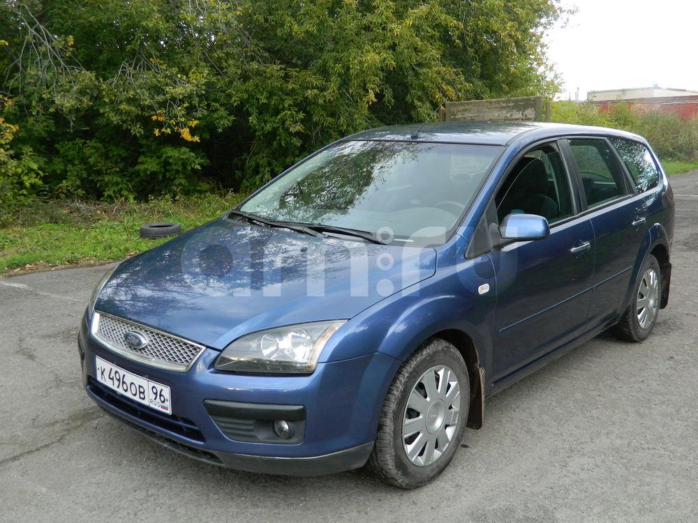 Подержанный Ford Focus, отличное состояние, синий , 2007 года выпуска, цена 305 000 руб. в Челябинской области