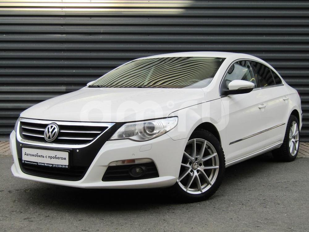 Volkswagen Passat CC с пробегом, белый , отличное состояние, 2010 года выпуска, цена 598 300 руб. в автосалоне  ()