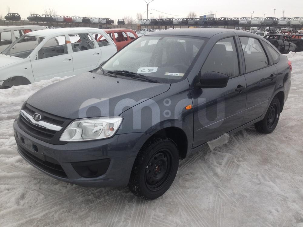 ВАЗ (Lada) Granta с пробегом, серый , отличное состояние, 2016 года выпуска, цена 404 000 руб. в автосалоне  ()