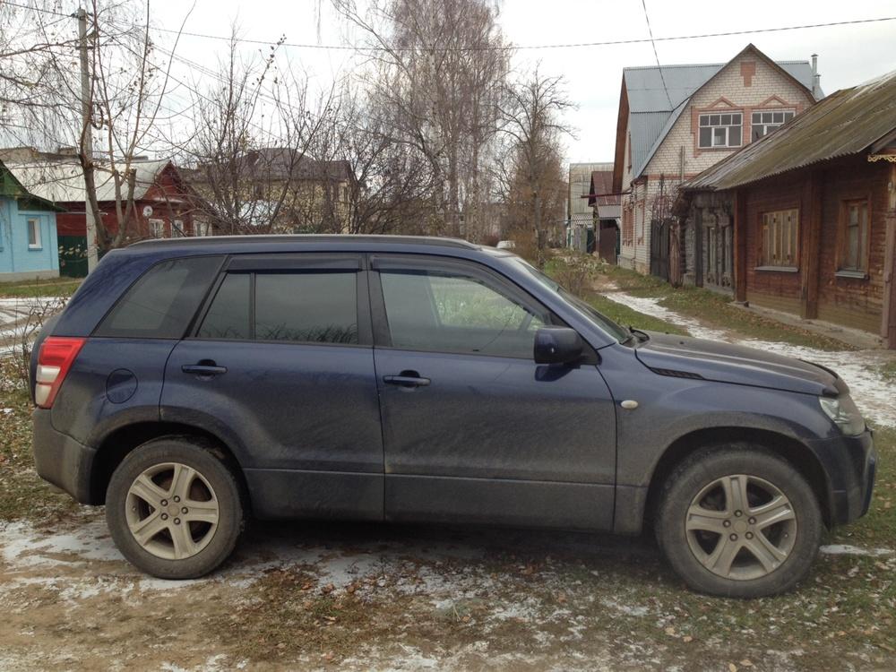 Подержанный Suzuki Grand Vitara, хорошее состояние, синий , 2008 года выпуска, цена 630 000 руб. в Костромской области