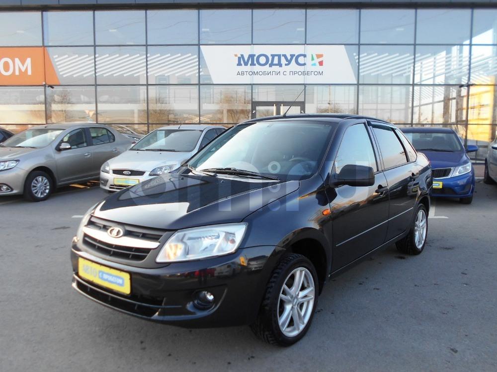 ВАЗ (Lada) Granta с пробегом, черный , отличное состояние, 2013 года выпуска, цена 290 000 руб. в автосалоне  ()