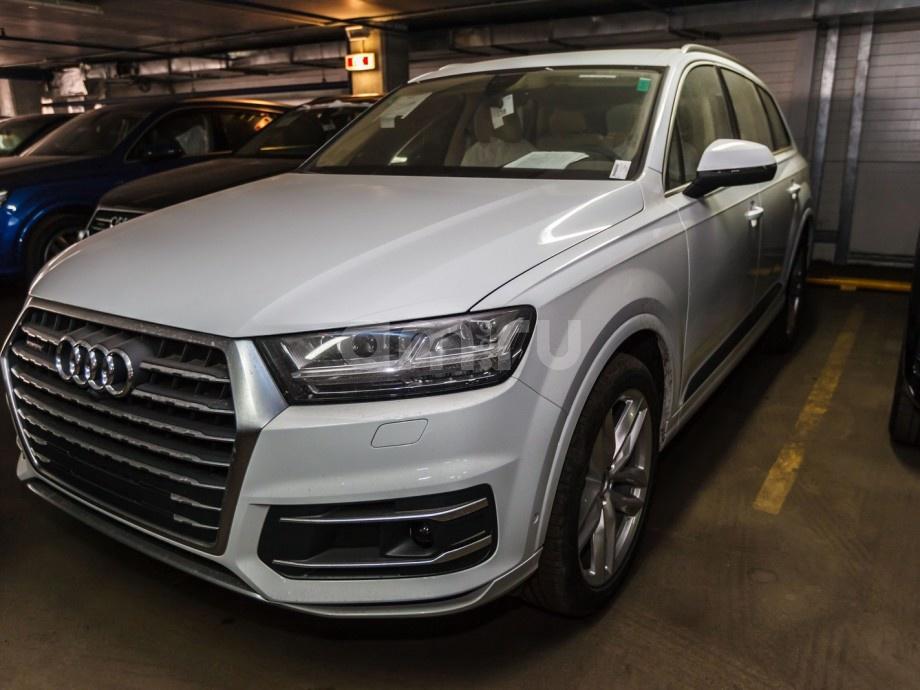 Новый авто Audi Q7, белый , 2017 года выпуска, цена 4 862 424 руб. в автосалоне  ()