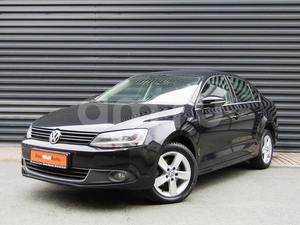 Volkswagen Jetta с пробегом, черный , отличное состояние, 2012 года выпуска, цена 578 300 руб. в автосалоне  ()