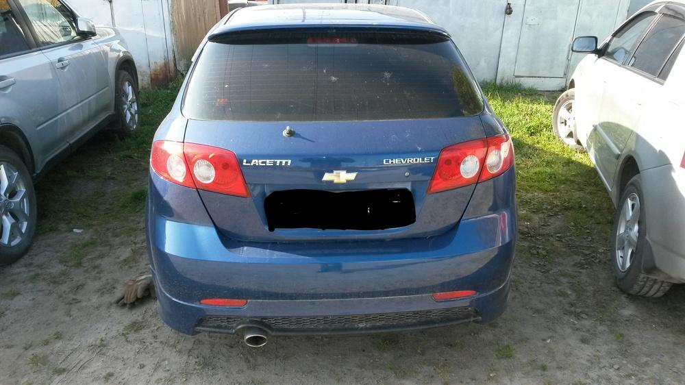 Подержанный Chevrolet Lacetti, хорошее состояние, синий , 2008 года выпуска, цена 310 000 руб. в ао. Ханты-Мансийском Автономном округе - Югре
