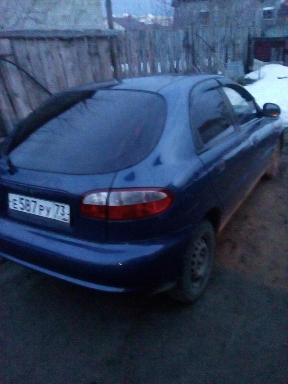 Подержанный ЗАЗ Chance, отличное состояние, синий акрил, 2010 года выпуска, цена 130 000 руб. в Ульяновской области