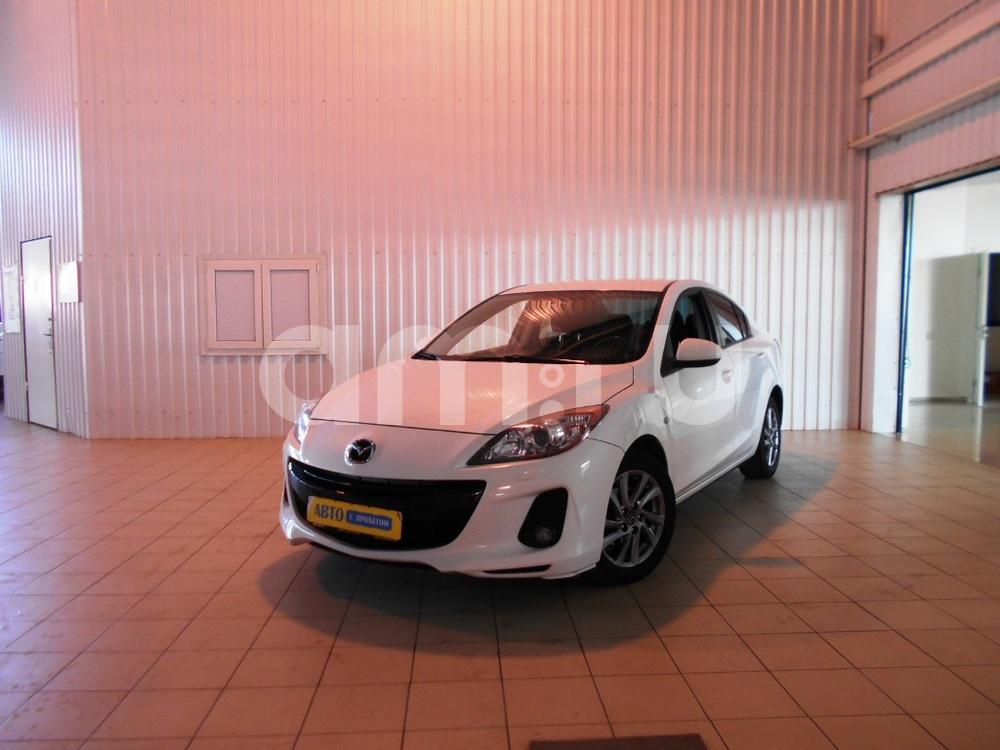 Mazda 3 с пробегом, белый , отличное состояние, 2012 года выпуска, цена 580 000 руб. в автосалоне  ()
