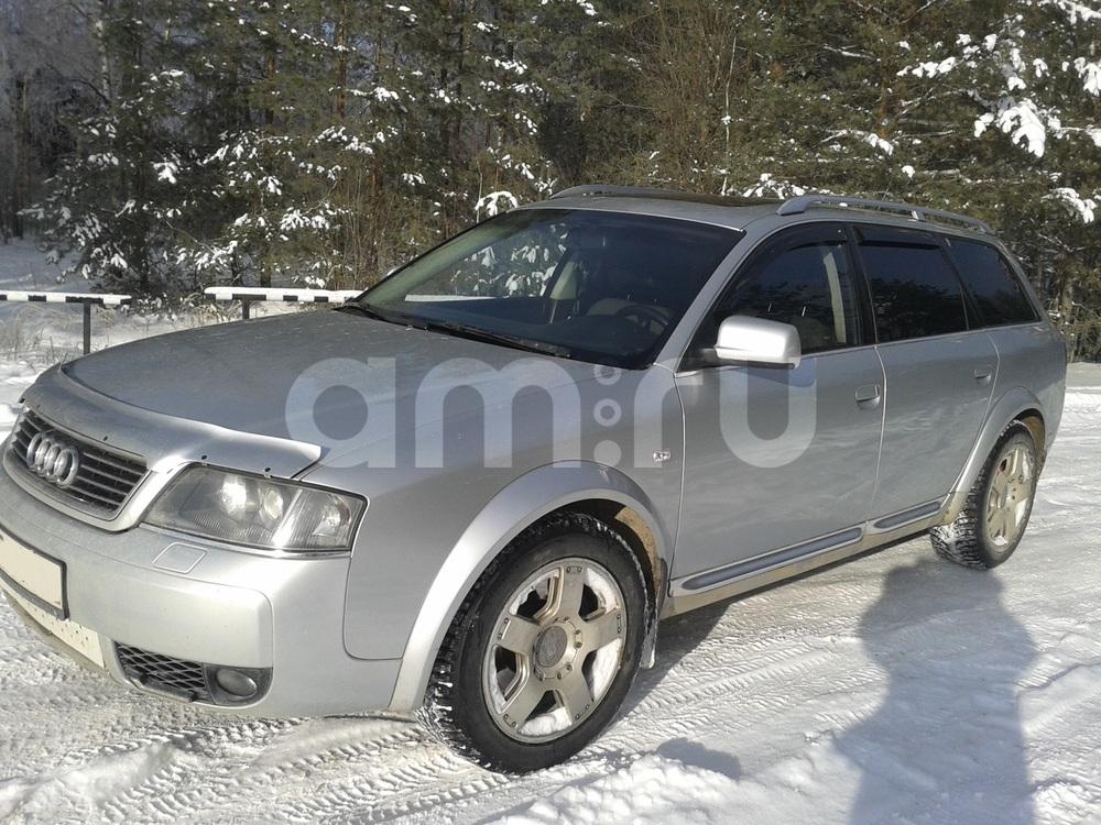 Подержанный Audi Allroad, хорошее состояние, серебряный металлик, 2004 года выпуска, цена 580 000 руб. в Смоленской области