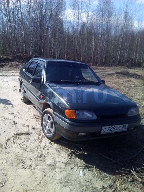 Подержанный ВАЗ (Lada) 2115, хорошее состояние, мокрый асфальт металлик, 2006 года выпуска, цена 110 000 руб. в ао. Ханты-Мансийском Автономном округе - Югре