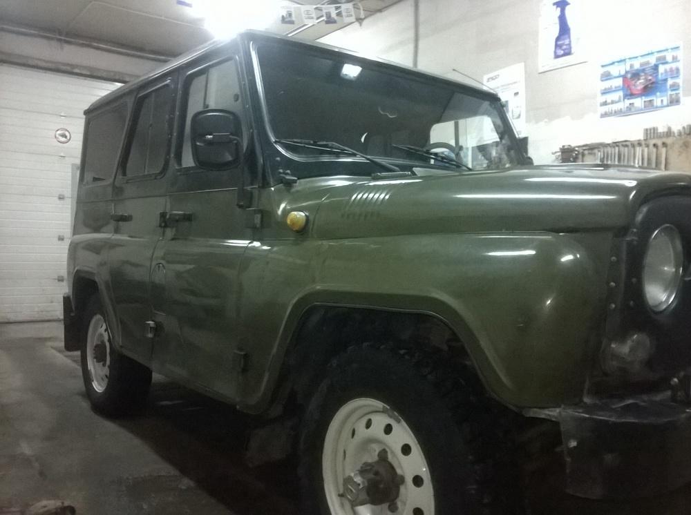 Подержанный УАЗ Hunter, хорошее состояние, зеленый , 2004 года выпуска, цена 200 000 руб. в Челябинской области