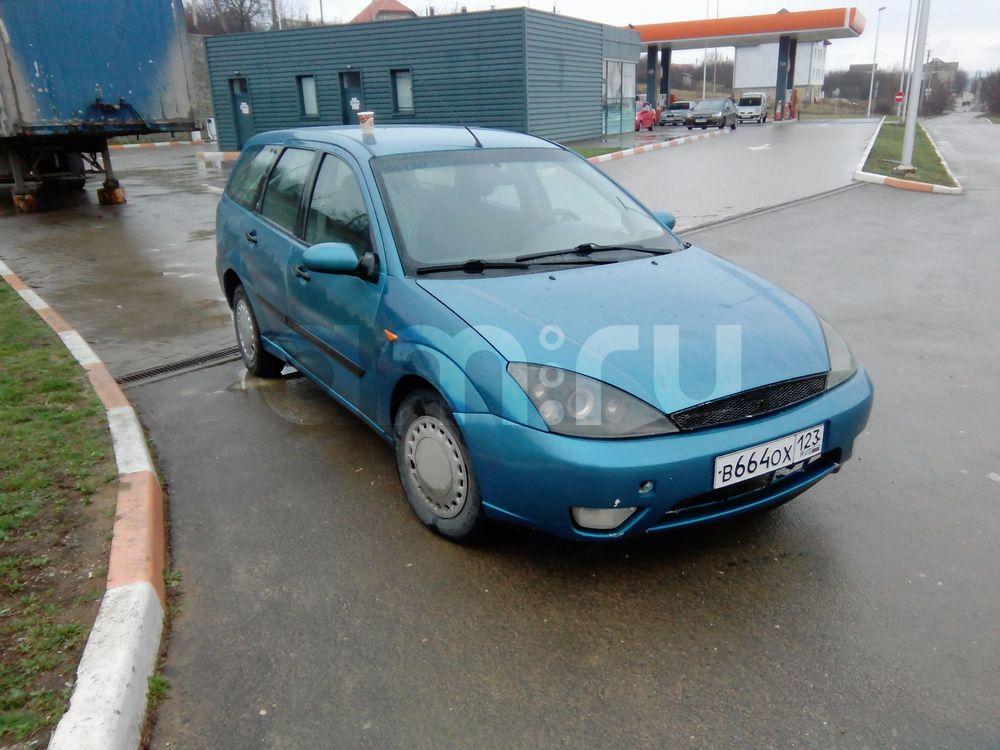 Подержанный Ford Focus, хорошее состояние, голубой , 2000 года выпуска, цена 170 000 руб. в Крыму