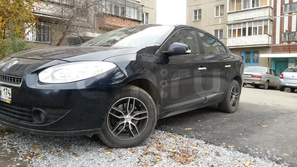 Подержанный Renault Fluence, отличное состояние, синий металлик, 2012 года выпуска, цена 520 000 руб. в Челябинской области