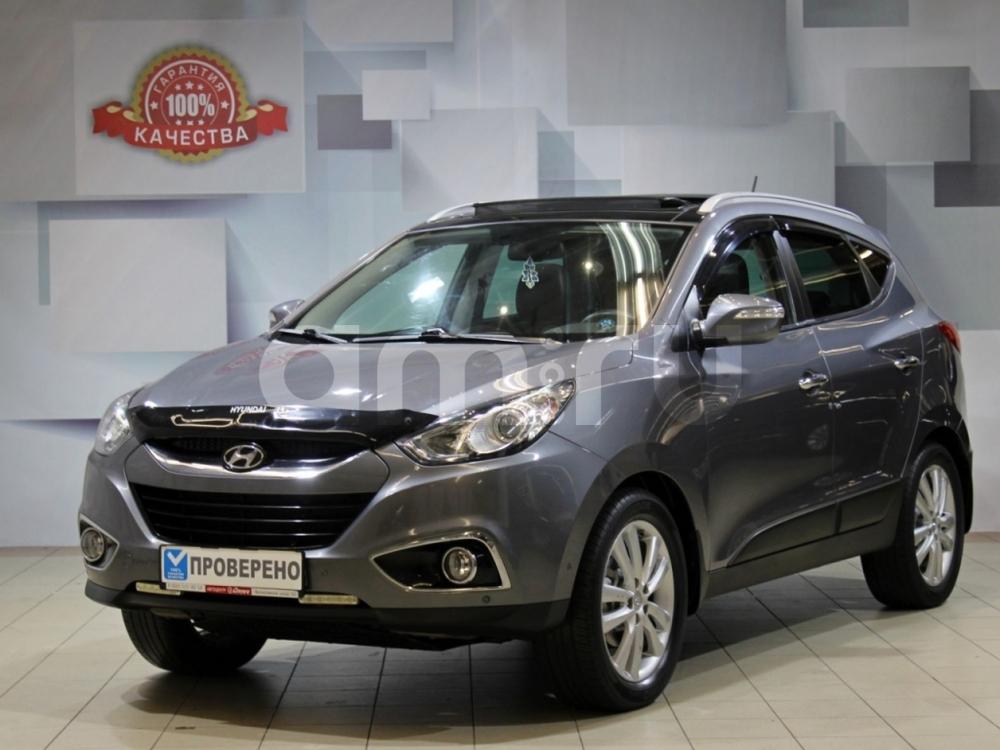 Hyundai ix35 с пробегом, серый , отличное состояние, 2012 года выпуска, цена 799 000 руб. в автосалоне АЦ Атлантис (Москва, ш. Волоколамское, д. 103 (ст. м. Волоколамская))