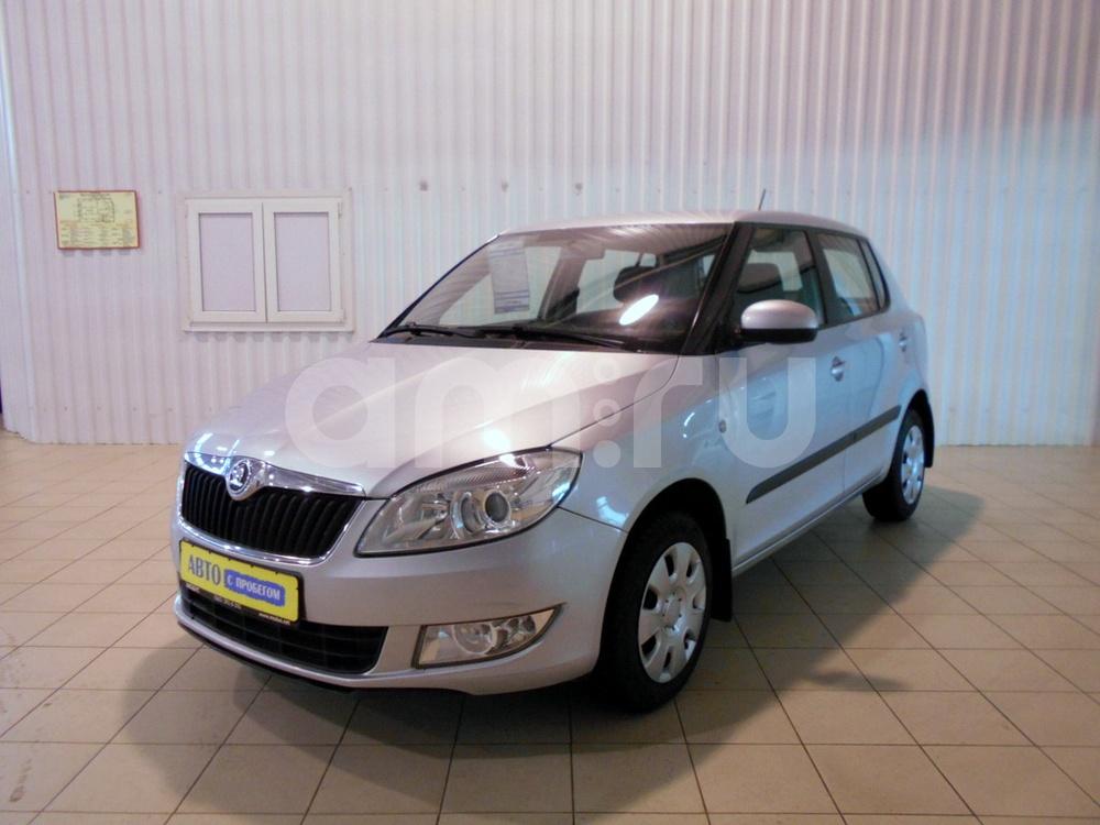 Skoda Fabia с пробегом, серебряный , отличное состояние, 2011 года выпуска, цена 340 000 руб. в автосалоне  ()