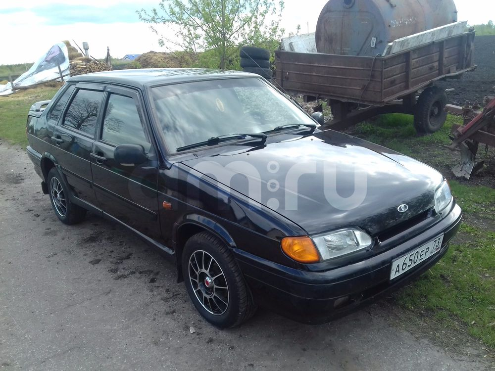 Подержанный ВАЗ (Lada) 2115, отличное состояние, зеленый , 2008 года выпуска, цена 140 000 руб. в Ульяновске
