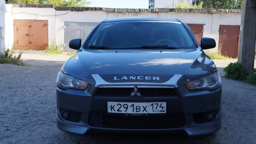 Подержанный Mitsubishi Lancer, отличное состояние, серый , 2008 года выпуска, цена 440 000 руб. в Челябинской области