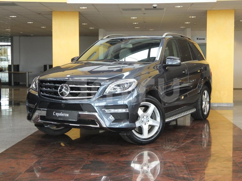 Mercedes-Benz M-Класс с пробегом, серый , отличное состояние, 2013 года выпуска, цена 2 444 000 руб. в автосалоне  ()