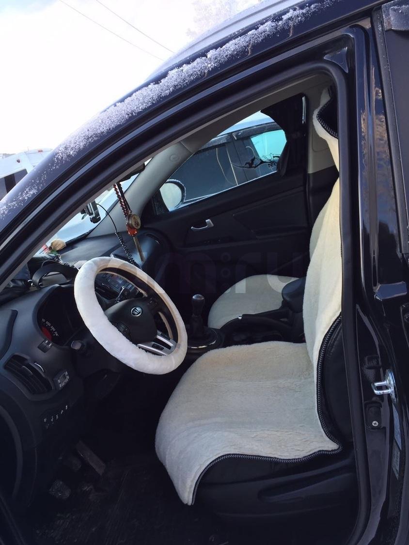 Подержанный Kia Sportage, хорошее состояние, черный , 2012 года выпуска, цена 950 000 руб. в ао. Ханты-Мансийском Автономном округе - Югре