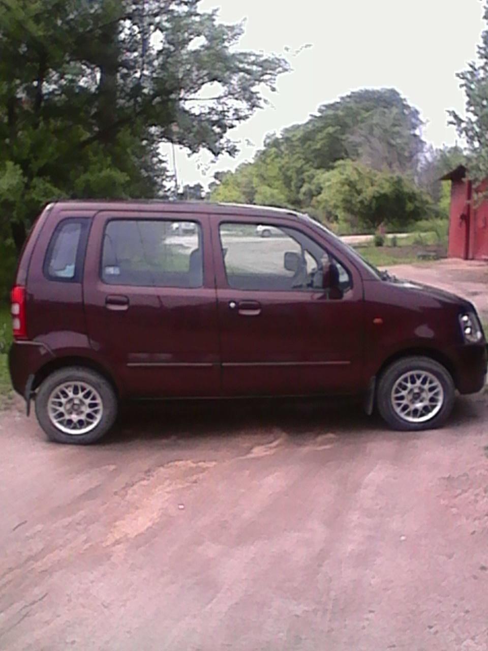 Подержанный Suzuki Wagon R, отличное состояние, коричневый перламутр, 2007 года выпуска, цена 355 000 руб. в Владивостоке