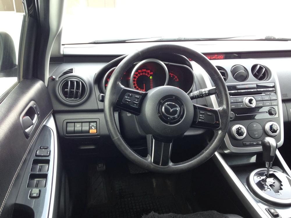 Подержанный Mazda CX-7, отличное состояние, коричневый металлик, 2007 года выпуска, цена 650 000 руб. в республике Татарстане