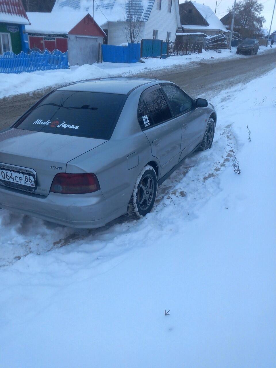 Подержанный Mitsubishi Aspire, хорошее состояние, серый , 1998 года выпуска, цена 200 000 руб. в ао. Ханты-Мансийском Автономном округе - Югре