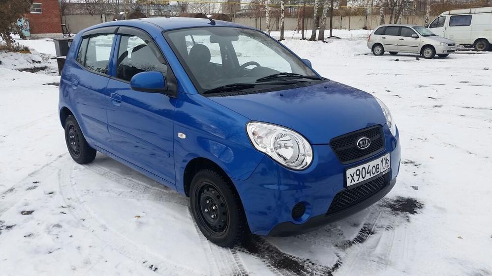 Подержанный Kia Picanto, отличное состояние, синий , 2010 года выпуска, цена 320 000 руб. в республике Татарстане