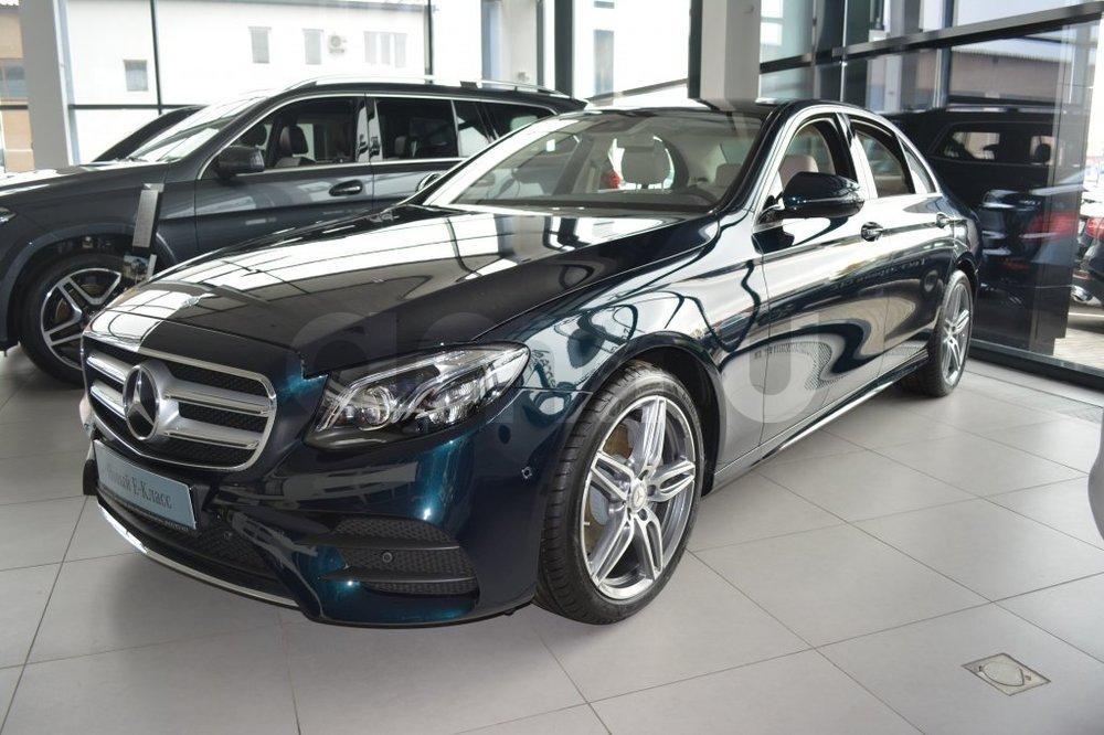 Новый авто Mercedes-Benz E-Класс, зеленый металлик, 2016 года выпуска, цена 3 729 190 руб. в автосалоне МБ-Орловка (Набережные Челны, тракт Мензелинский, д. 24)