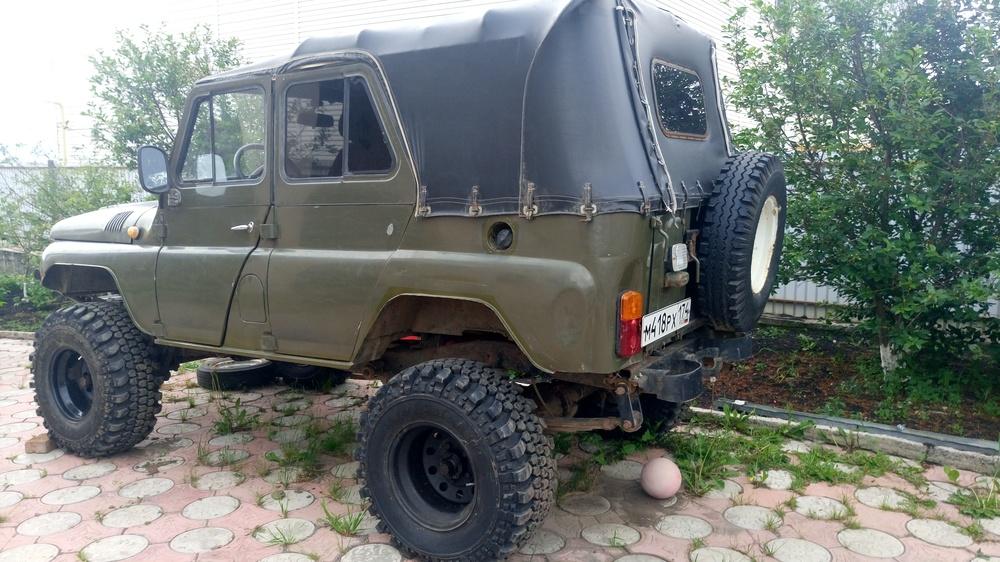 Подержанный УАЗ 3151, отличное состояние, серый , 1996 года выпуска, цена 260 000 руб. в Челябинской области