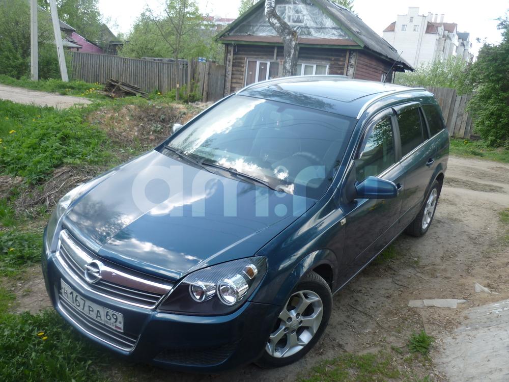 Подержанный Opel Astra, хорошее состояние, синий , 2007 года выпуска, цена 310 000 руб. в Тверской области