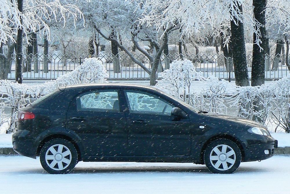 Подержанный Chevrolet Lacetti, отличное состояние, черный , 2007 года выпуска, цена 350 000 руб. в республике Татарстане
