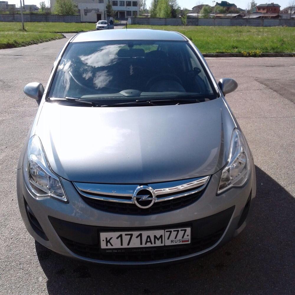 Подержанный Opel Corsa, отличное состояние, серый , 2012 года выпуска, цена 490 000 руб. в Твери